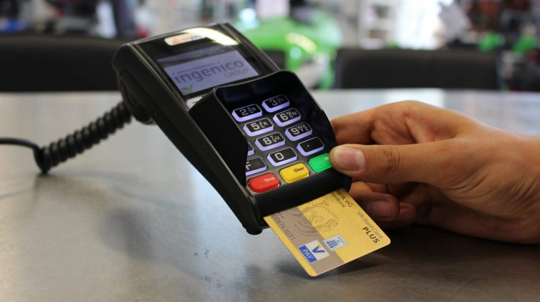 Ingenico Payment Terminal with Card